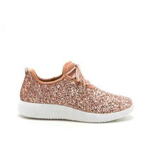 Qupid Glitter Shoes